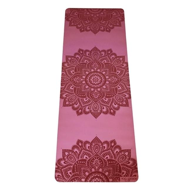 【YogaDesignLab】Infinity Mat PU瑜珈墊 5mm - Rose