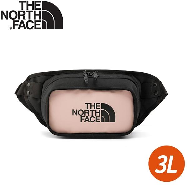 【The North Face EXPLORE HIP PACK 3L腰包《粉紅》】3KZX/腰包/側背包/鞋背包/小包