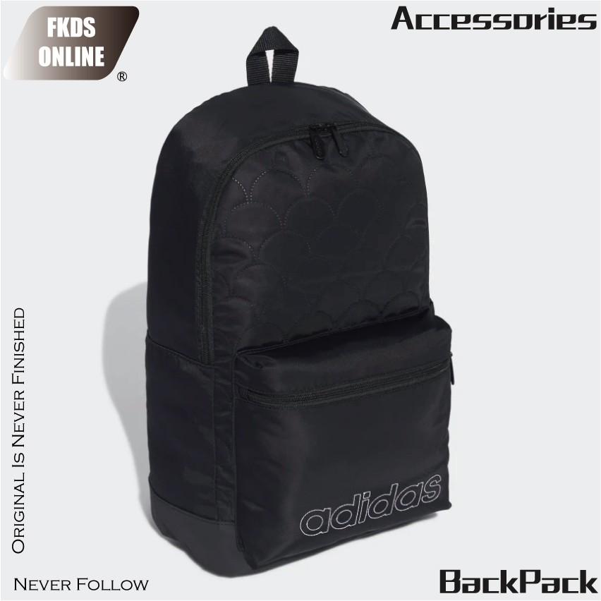 Adidas 愛迪達 休閒系列 T4H Q 經典LOGO 刺繡縷空 雙肩後背包 大背包 後背包 背包 GE1217