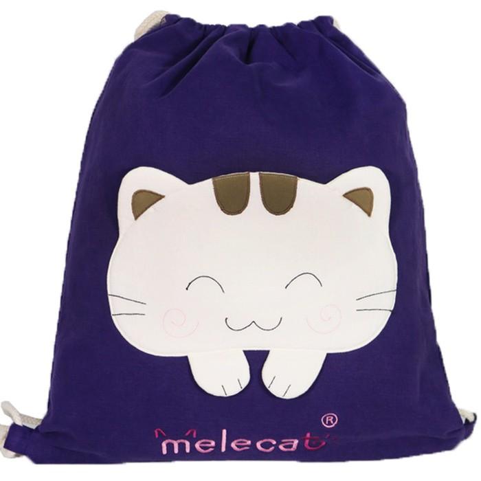 Melecat咪樂貓潮流貓咪束口後背包【HOZ-849】