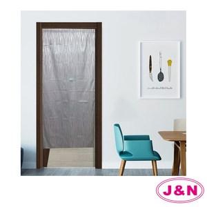【J&N】一片式門簾 風水簾 88x176cm(紫色)紫色