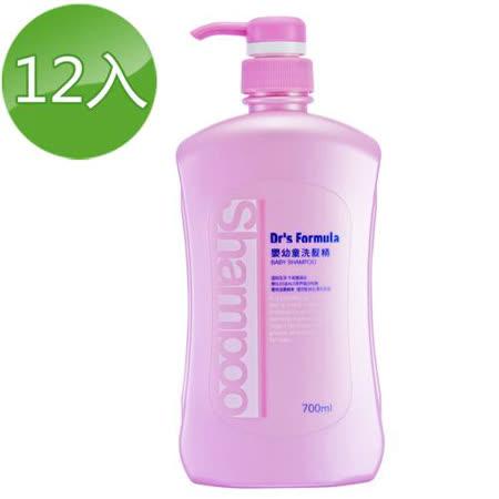 台塑生醫Dr's Formula 嬰幼童洗髮精 700ml*12瓶