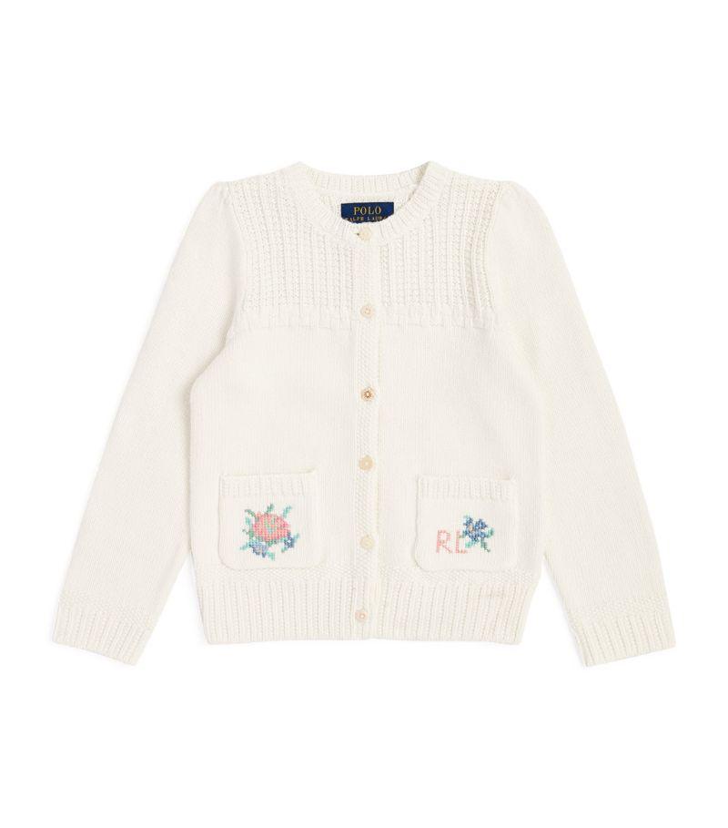 Ralph Lauren Kids Floral Cardigan (2-4 Years)