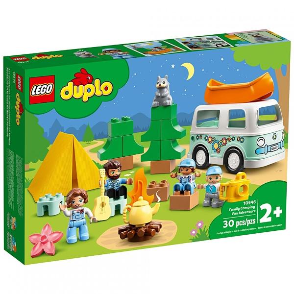 樂高積木 《 LT10946 》Duplo 得寶系列 - 家庭露營車大冒險 / JOYBUS玩具百貨