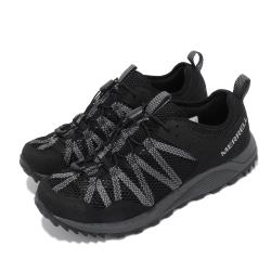 Merrell 戶外鞋 Wildwood Aerosport 男鞋 彈性 支撐 內嵌式避震墊片 耐磨 抓地 黑 灰 ML036109