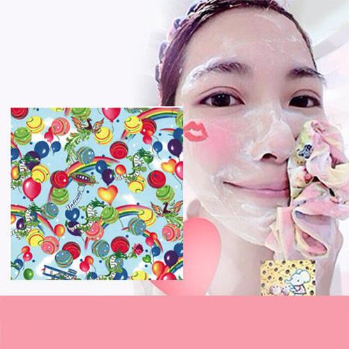 Pikka Pikka Y02 龍 林鴒推薦 日本製 臉部毛孔潔淨布 洗臉布 花猴分享 熱賣中!