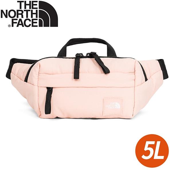 【The North Face 5L 腰包《夜砂粉》】3VX8/腰包/側背包/鞋背包/小包