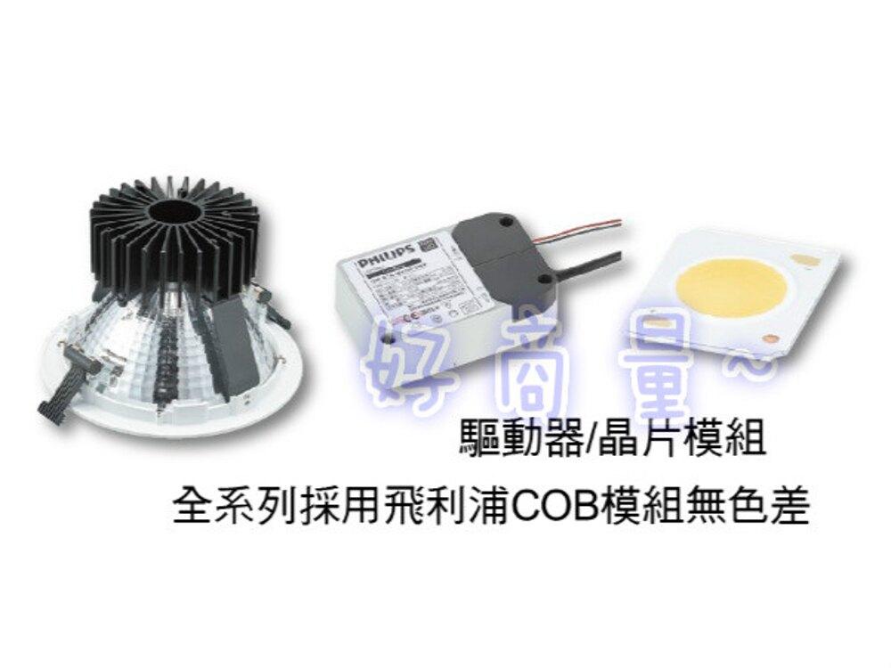 好視多~舞光 LED 45W 崁燈 20.5cm 黑鑽石 高演色 崁燈 筒燈 LED-21DOD45