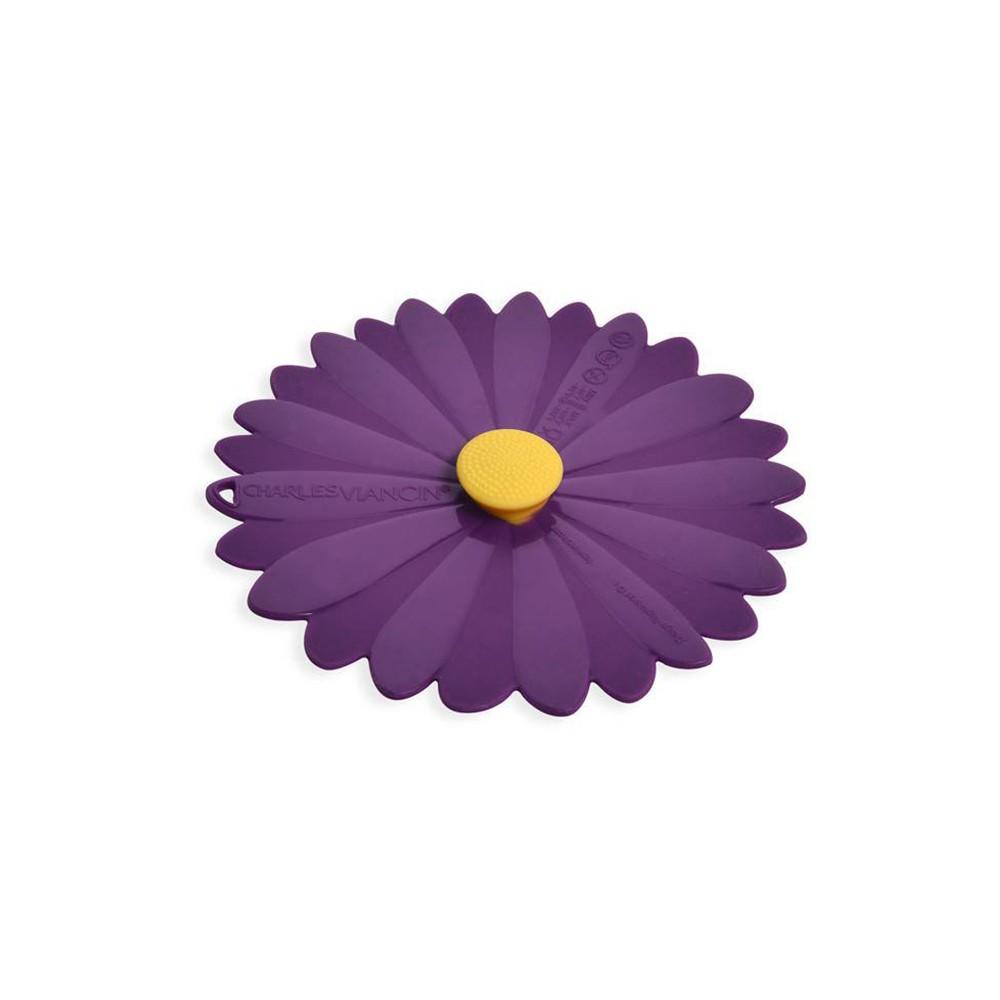 【法國 Charles Viancin】雛菊杯蓋 2入(紫色)《WUZ屋子》
