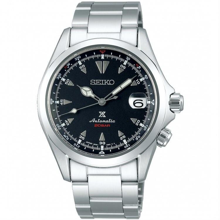 Seiko 精工錶 PROSPEX 6R35-00E0D(SPB117J1) 時尚質感機械運動腕錶/黑色面 39.5mm