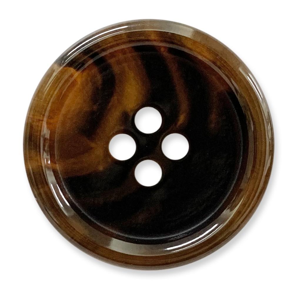 日本製/尿素釦UREA/亮面/4孔/ 7165 46號色/ 10顆/組 西服鈕釦
