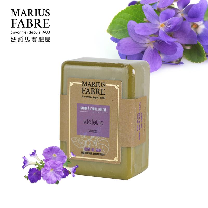 【法鉑Marius Fabre】紫羅蘭橄欖草本皂/150g