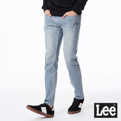Lee 709 低腰合身水洗小直筒牛仔褲 男款 淺藍色