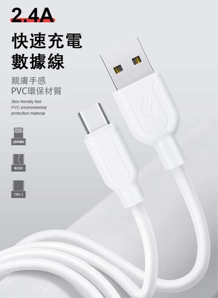 買一送一快速充電usb-type-c 葉子數據線(1m)