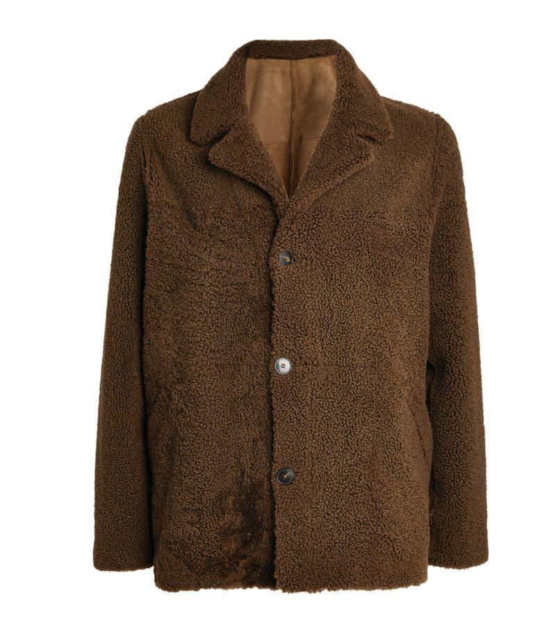 Yves Salomon Homme Reversible Shearling Jacket