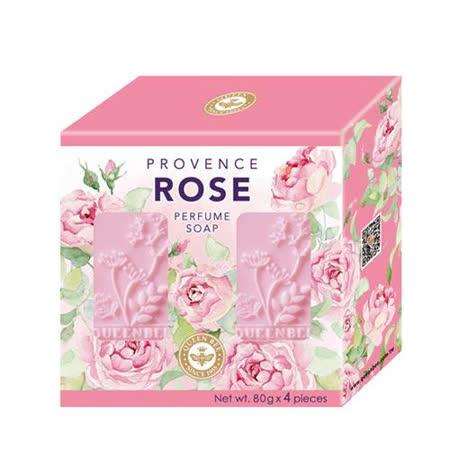 普羅旺斯玫瑰精油香氛皂80g X4