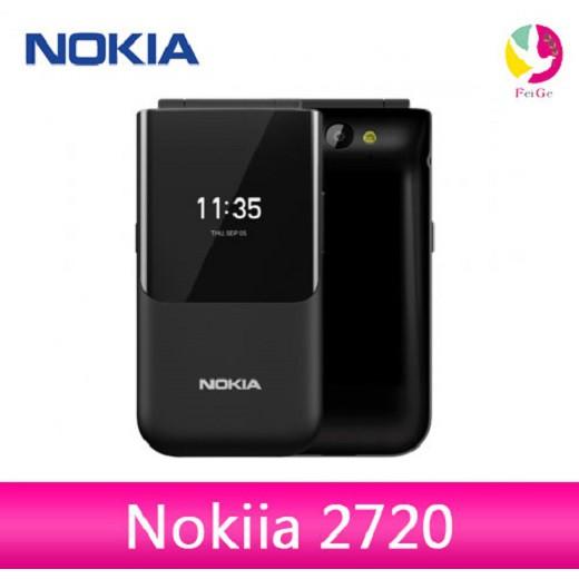 Nokia 2720 經典摺疊4G/雙螢幕/雙卡雙待/支援記憶卡/老人機/孝親機/手機