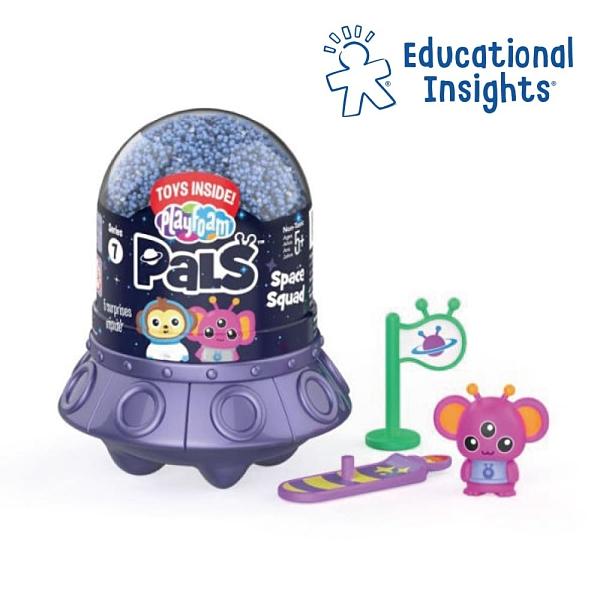 美國 Educational Insights 魔塑粒粒黏土 - 太空小隊
