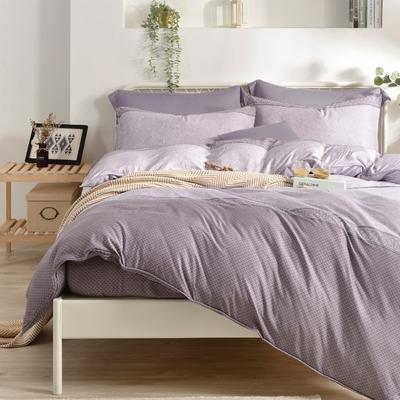 Saint Rose 靜夜綺想 雙人100%純天絲枕套床包三件組