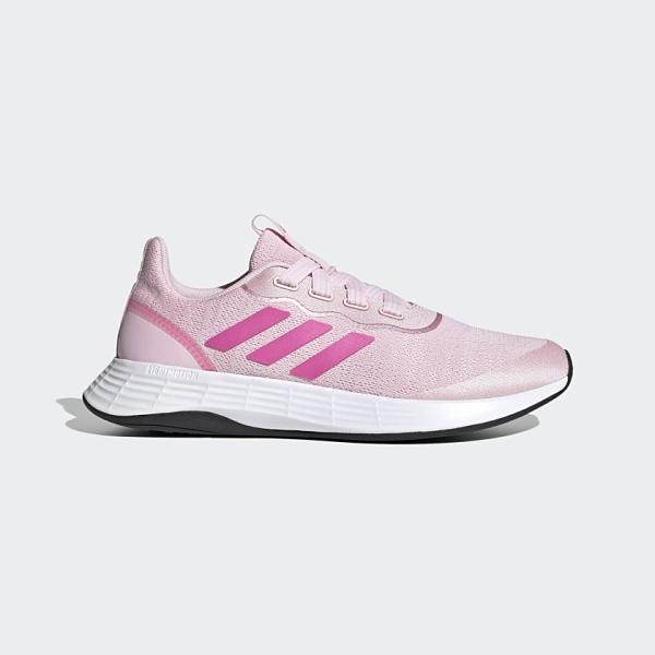 Adidas QT RACER SPORT 女款粉色運動慢跑鞋-NO.FY5676