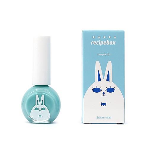 recipebox兒童水性可撕式指甲油(天空藍)10ml 日華好物 韓國樂天熱銷