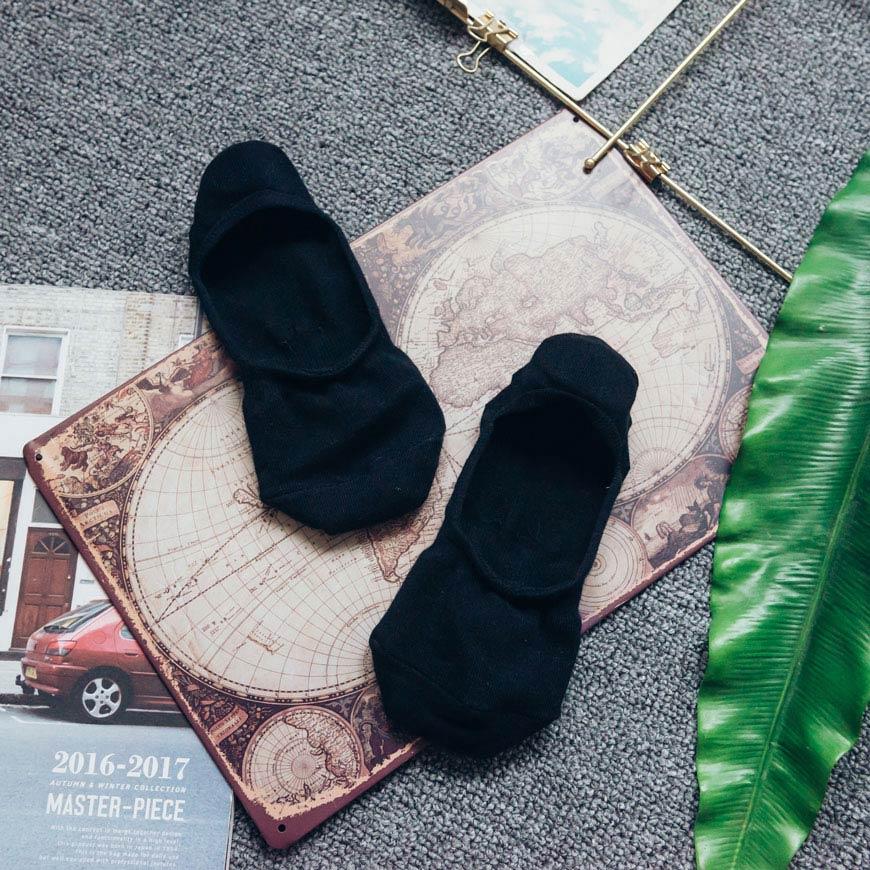 防滑矽膠 隱形襪-男 2色