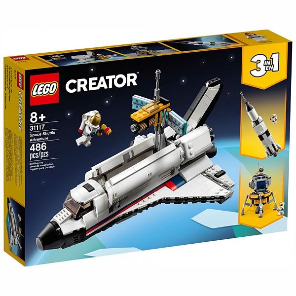 樂高積木 LEGO《 LT31117 》創意大師 Creator 系列 - 太空梭歷險 / JOYBUS玩具百貨