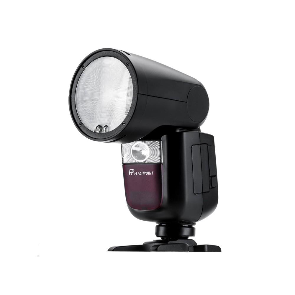 Godox 神牛 V1 Kit E-TTL 鋰電圓燈頭閃光燈套組 送LA-304燈架 開年公司貨