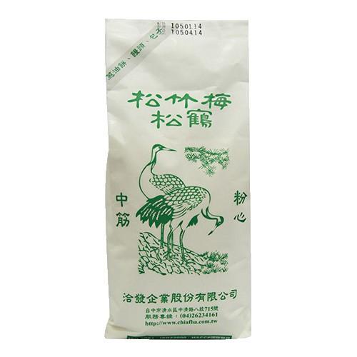 洽發 松鶴麵粉(中筋-1KG)[大買家]