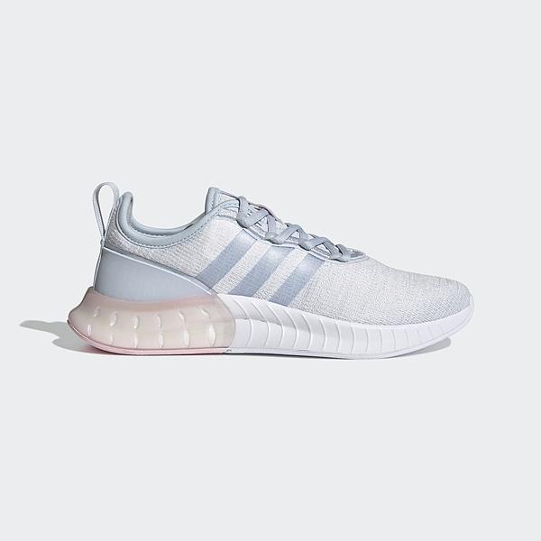 Adidas Kaptir Super [FZ2787] 女鞋 慢跑鞋 運動 休閒 訓練 健身 彈力 愛迪達 灰 水藍