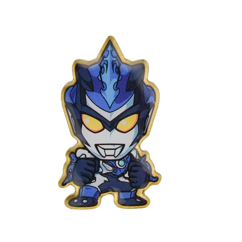 《超人力霸王》造型徽章-布魯