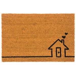椰鬃刮泥墊 45x75cm 甜蜜的家