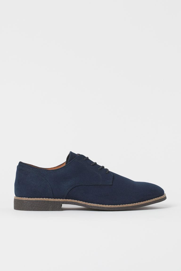 H & M - 德比鞋 - 藍色