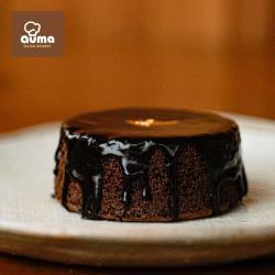 【奧瑪烘焙】濃情生巧淋面蛋糕4吋x1入