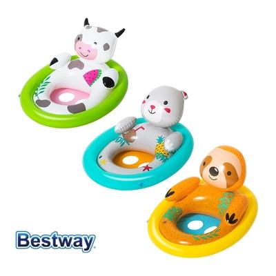 凡太奇 Bestway 立體動物寶貝座圈 嬰兒泳圈 34058