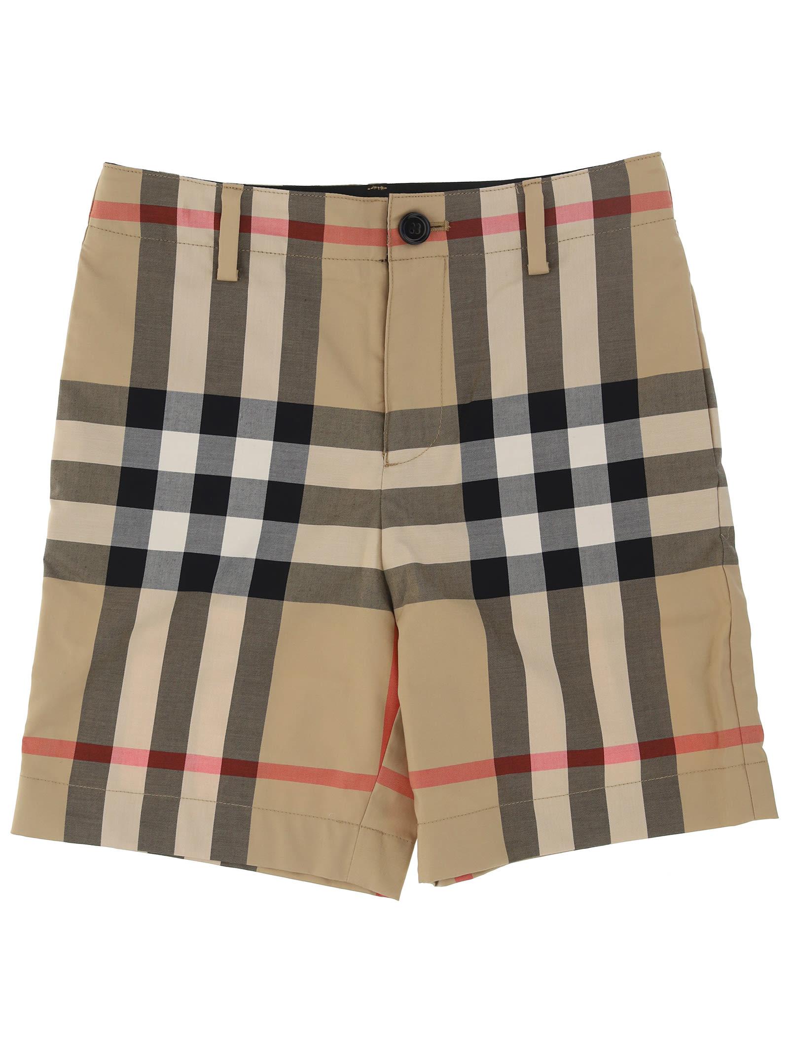 Burberry Bermuda Shorts Royston For Boy