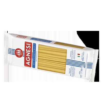 義大利Agnesi 義大利麵 Spaghetti n.3 500g