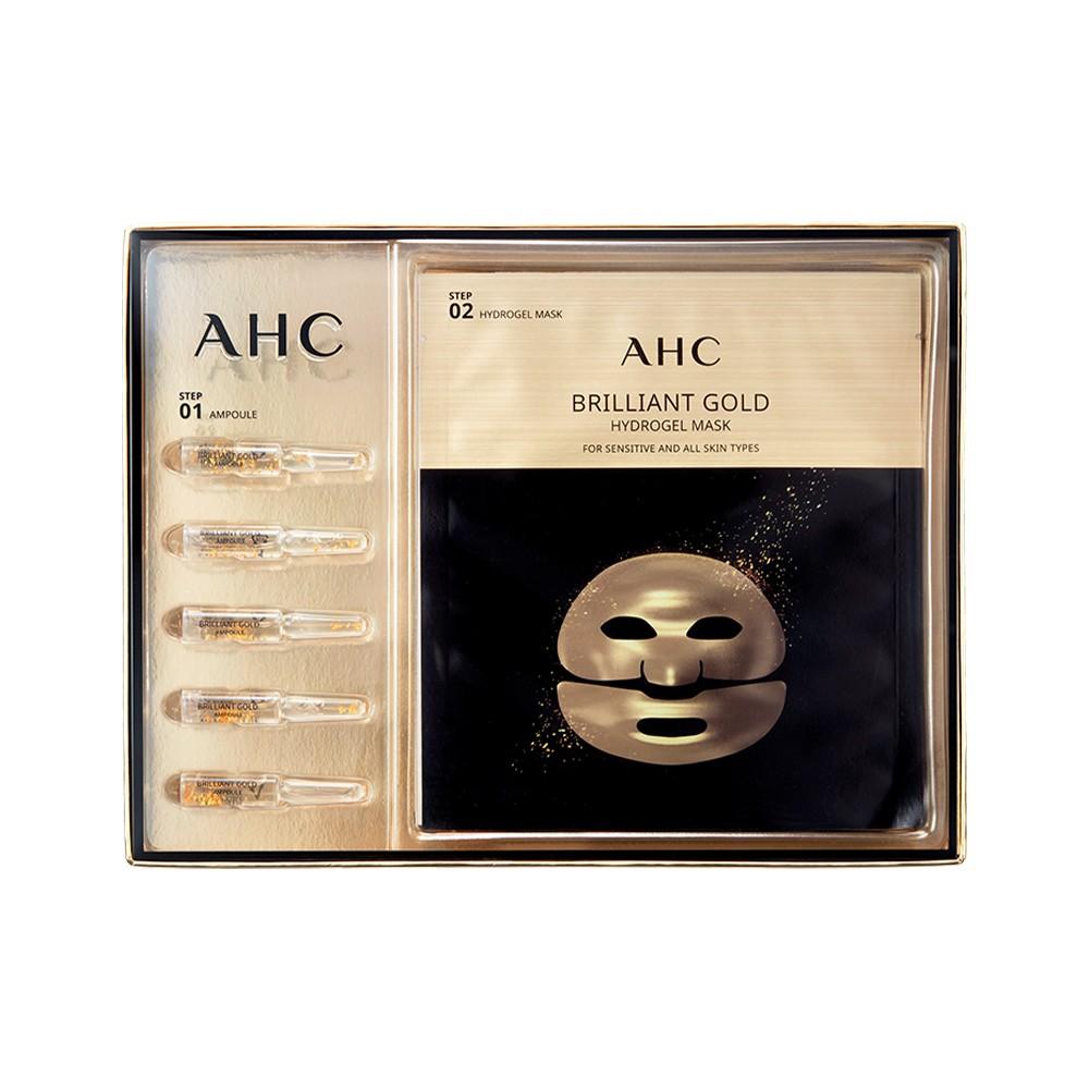 AHC 黃金蠶絲蛋白安瓶面膜 31.5g*5片/盒