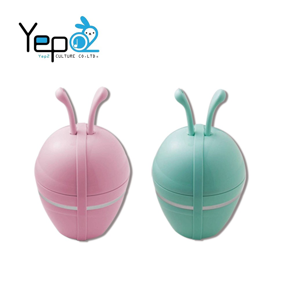 [Yep2 芽比兔]五合一組合餐具-兔子