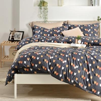 Saint Rose 傳情曲意 雙人100%純天絲枕套床包三件組