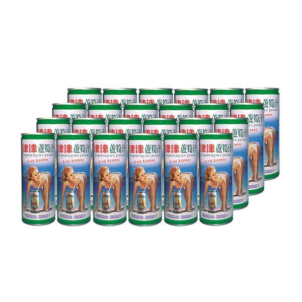 津津蘆筍汁 245mlx24罐/箱  【大潤發】