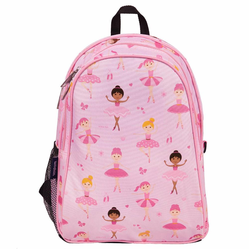 美國 wildkin 兒童後背包/雙層式便利書包  14901 芭蕾舞女孩