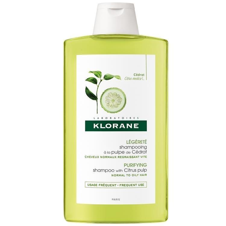 Klorane蔻蘿蘭 淨透輕盈洗髮精400ml 推廣品
