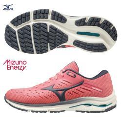 MIZUNO WAVE RIDER 24 女鞋 慢跑 U4ic ENERZY中底 避震 柔軟 粉【運動世界】J1GD200330