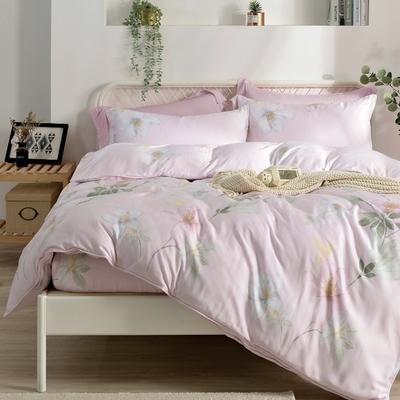 Saint Rose 沁雅花香 雙人100%純天絲枕套床包三件組