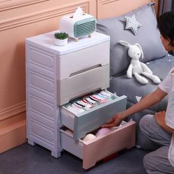 居家生活Easy Buy  面48大容量馬卡龍四層儲物櫃