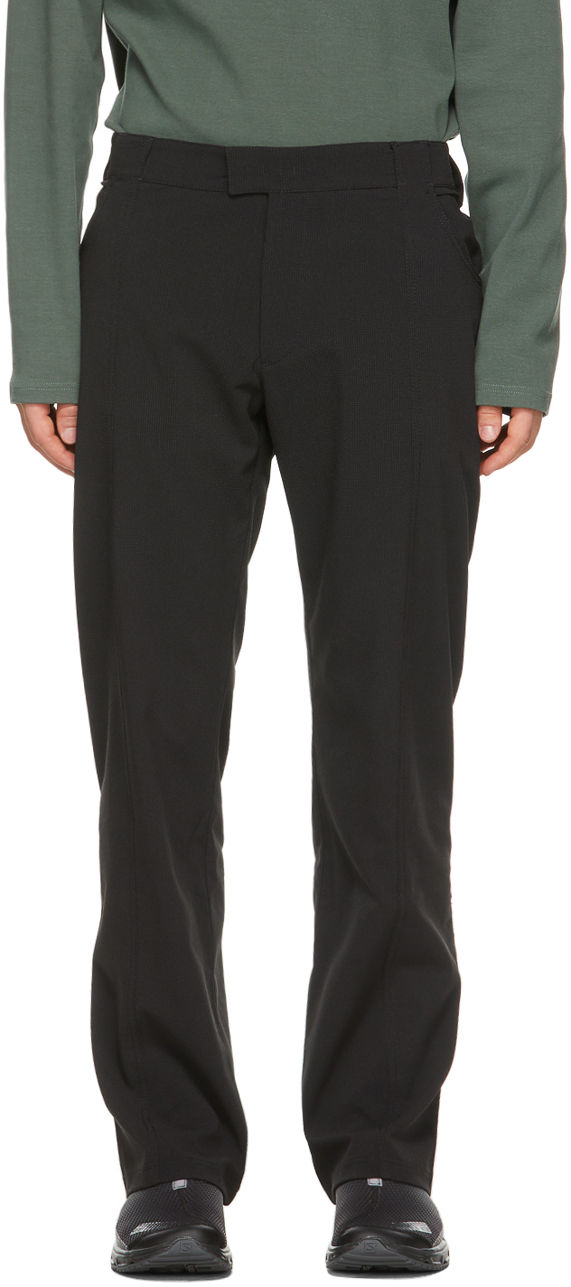 Affix 黑色 Work 长裤