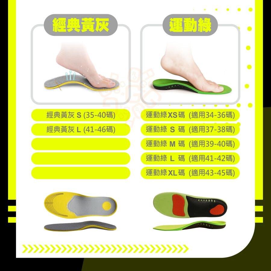 ORG《SD2611》升級!扁平足鞋墊 扁平足救星 足弓鞋墊 機能運動 足弓墊 扁平足 鞋墊 氣墊鞋墊 扁平足專用鞋墊