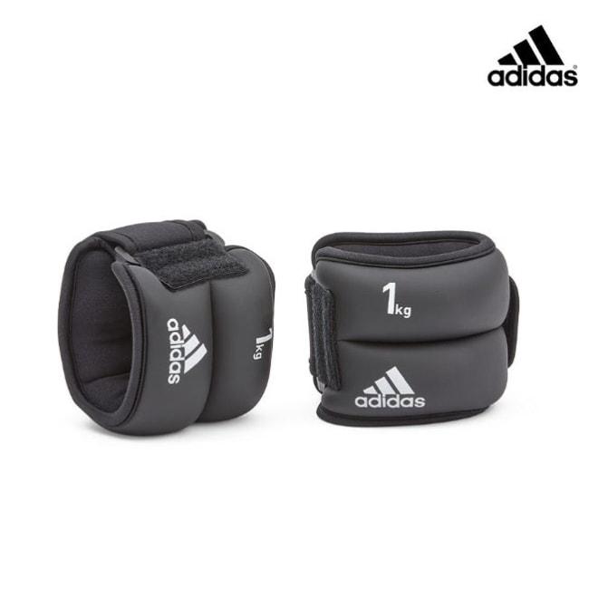 Adidas Training-加重訓練護腕/護踝-1kg(黑色)