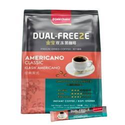 馬來西亞 金寶雙凍美式黑咖啡(2gx30包)-4袋/組